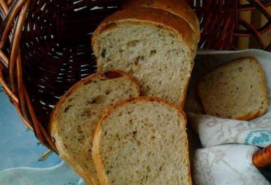 Как сделать хлеб на молоке